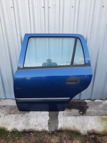 Opel Astra II G Kombi drzwi tylne tyl lewe Z20Q