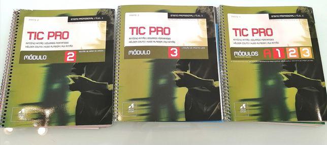 Cadernos tic pro