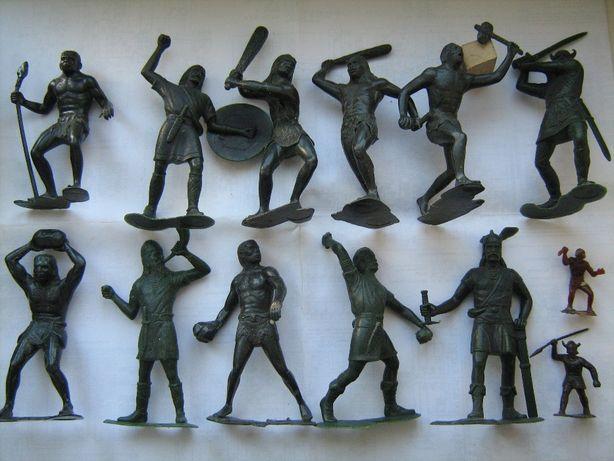 Солдатики СССР большие пластиковые воины, дикари