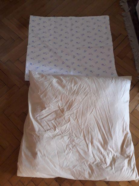 Poduszka z pierza używana lata 80-te