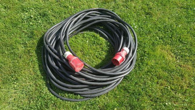 Kabel siłowy 32a 400v 50m  na budowę
