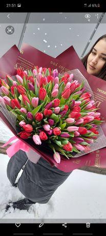 Тюльпан Букеты из тюльпанов