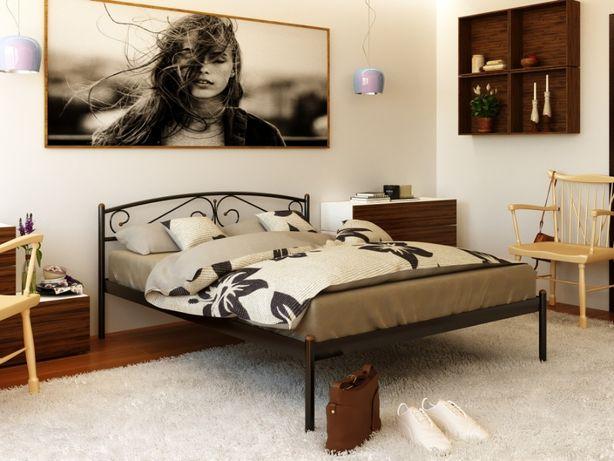 Металлическая кровать Верона, Маранта. Выбор. Бесплатная доставка!
