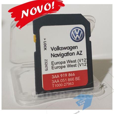 VW Cartao de Gps RNS-315 Europa 2021 novo - v12