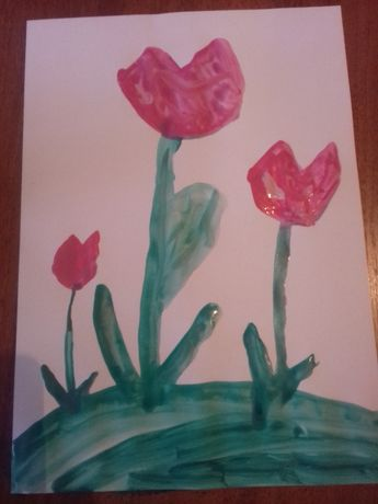 "Рисунок ""Цветочки"""