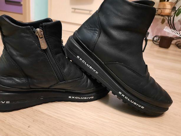 Хіт сезону шкіряні ботинки