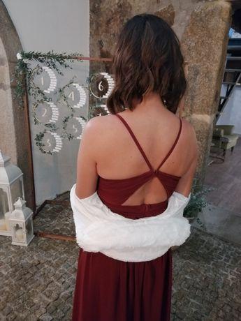 Vendo vestido e bolero de cerimónia
