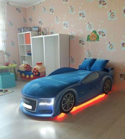 Для ребенка Кровать Машина Ліжко, +БЕСПЛАТНАЯ доставка/Рассрочка