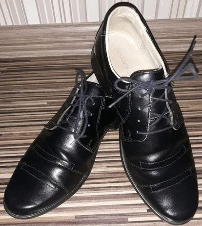 Buty galowe, na apel, komunijne, rozmiar 36