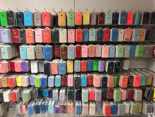 Чехол на Iphone,Silicone Case отличного качества:7-8/Plus,X,XS,XR,11