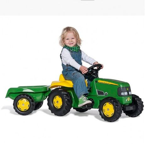 Трактор на педалях Kid John Deere Rolly Toys