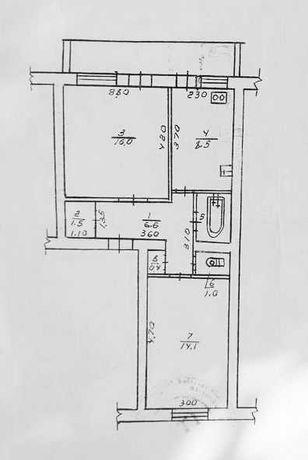 Іванковичи, продаж 2-кімнатної квартири.
