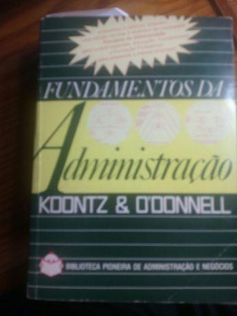 Fundamentos de administração de 1973