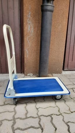 Wózek platformowy transportowy