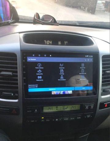 Автомагнитола Toyota prado 120 android 8