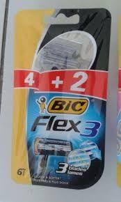 Giletes descartáveis BIC flex 3
