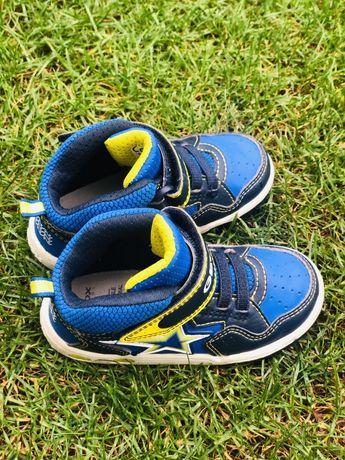 Ботинки кроссовки кеды Geox Respira оригинал мигают