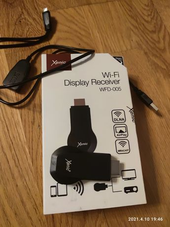 WI-FI Display Receiver Xenic WFD 005 (Cast WiFi Miracast AirPlay DLNA)
