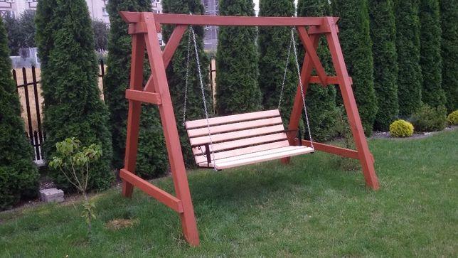 Huśtawka siedzisko olcha Ogrodowa bardzo solidne i ładne wykonanie HIT