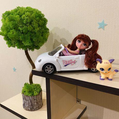 Кукла с машиной кабриолет Открыв. двери, багажник