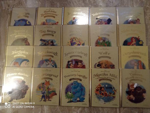 Książki Disneya po 5 zł sztuka