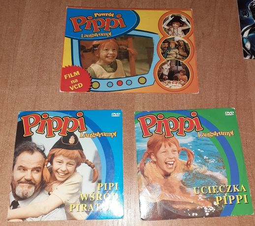 Pipi płyty DVD