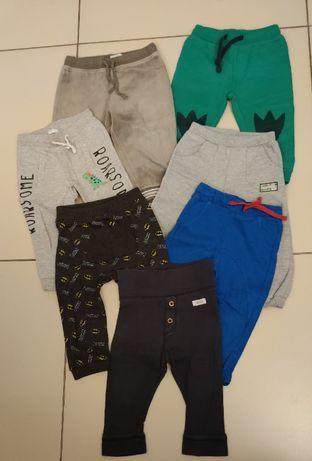 Spodnie dresowe, 86 cm, 7 par H&M, Pepco, newbie