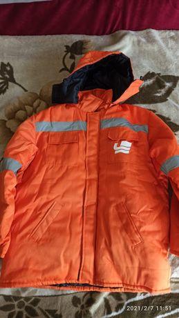 Куртка роба фуфайка тёплая , большой размер