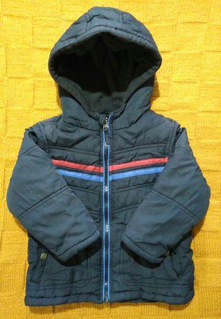 Детская куртка для мальчика, 1,5-2 года
