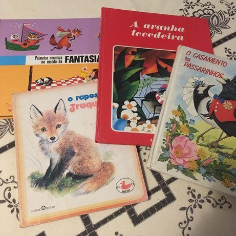 Livros infantis (lote)