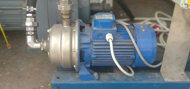 Pompa wody odśrodkowa nierdzewna z silnikiem 2,2 kW