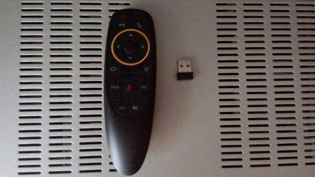 Bezprzewodowa myszka mikrofon TV box 2.4G Air maus G10