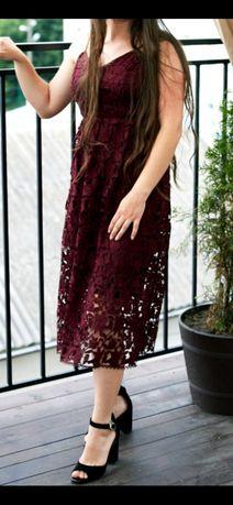 Плаття ,бордо,Reserved