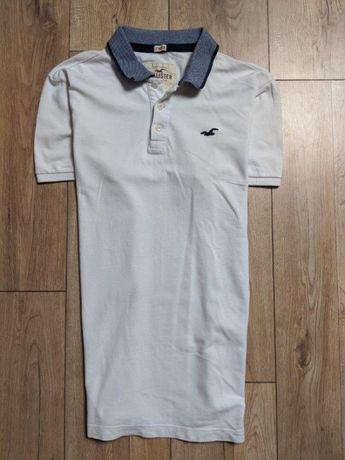 Hollister by Abercrombie Polo męskie koszulka męska unikat logo XL 2XL