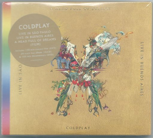 Coldplay - Head full of dreams 2CD+2DVD NOWA FOLIA
