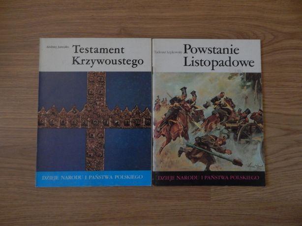 Testament Krzywoustego, Powstanie Listopadowe