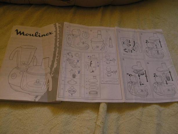 Инструкция для кухонного комбаина MOULINEX