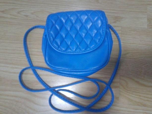 torebka niebieska mała