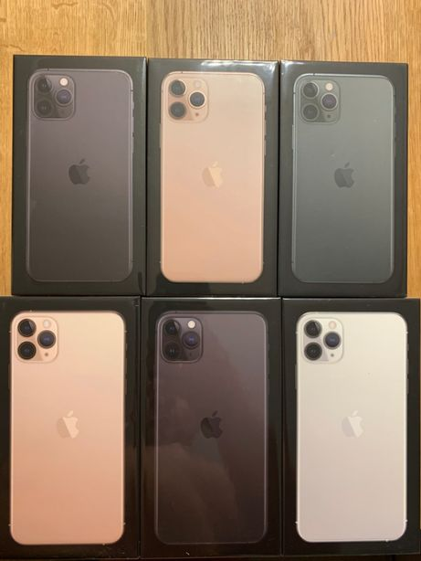 APPLE iPHONE 11 PRO 256GB Black Green Silver Poznań Długa