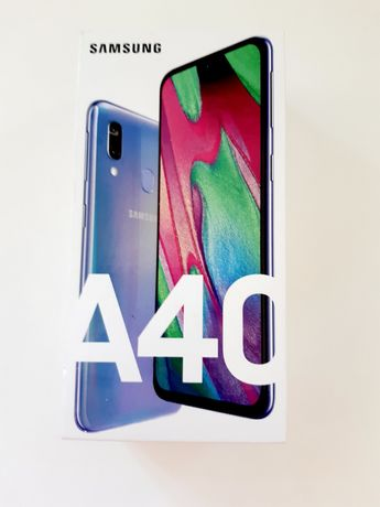 Samsung Galaxy A40 niebieski stan idealny gwarancja, Lublin