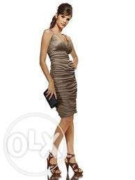 Sukienka Heine czarna złota 36,38,40 nowa wesele, impreza