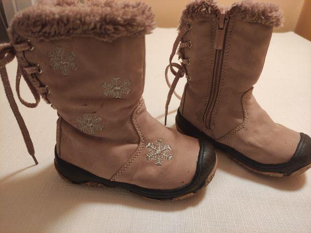Kozaczki kozaki buty zimowe rozmiar 21
