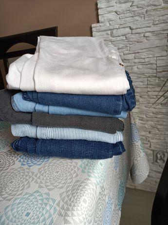 Spodnie zestaw spodni  jeansy xs 34