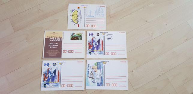 Karty pocztowe, RUP Słupsk, Łeba 5 szt.