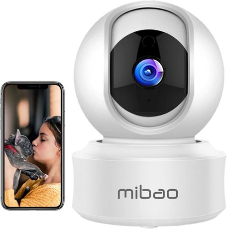 Kamera IP bezpieczeństwa 1080P WiFi Mibao z HD Night Vision