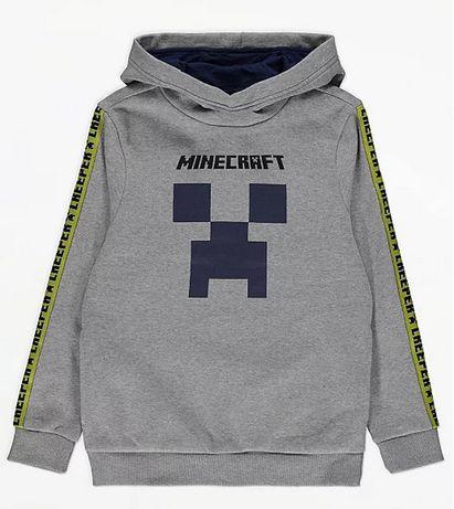 Szara Kangurka Minecraft bluza 152cm 11-12 lat