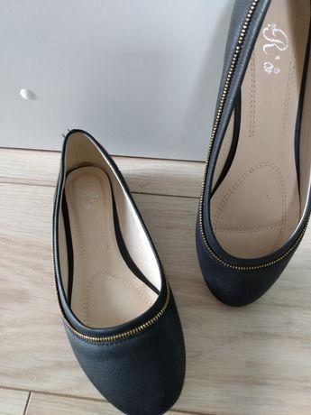 Baleriny buty 37 czarne