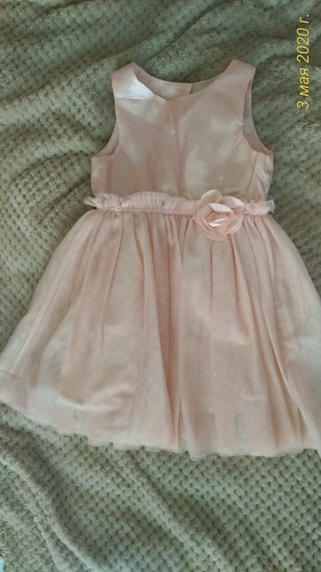 Нарядное платье H&M  1,5-2года