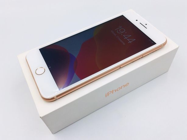 NOWA bateria • iPhone 8 PLUS + 64GB Gold • GWAR 1 MSC • AppleCentrum