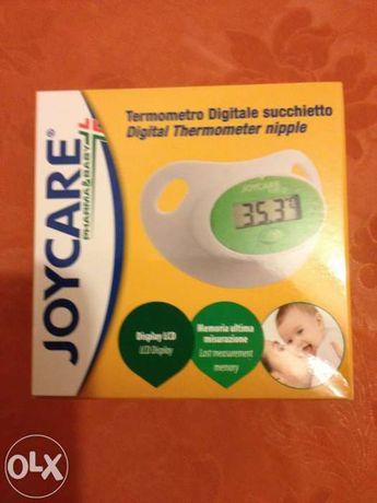 Chupeta com termómetro digital nova da Joycare